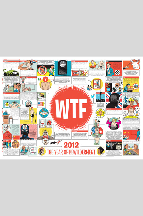 WTF / Mail & Guardian Editiorial Illustration