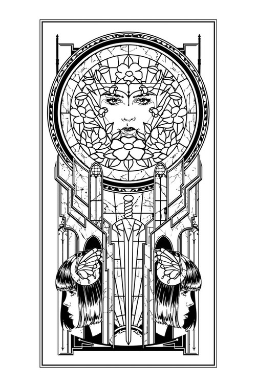 Interior Illustration / The Princess Electric