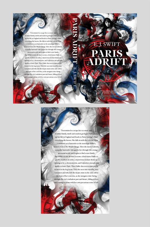 Full cover artwork for Paris Adrift