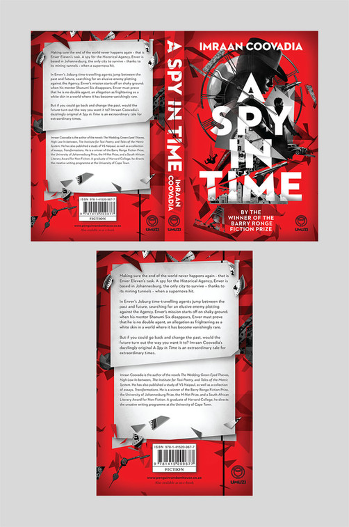 Full cover artwork for A Spy In Time