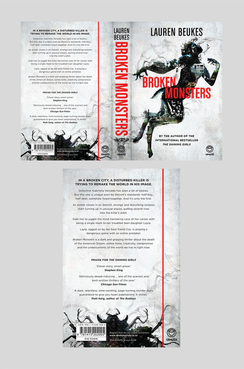 Full cover artwork for Broken Monsters