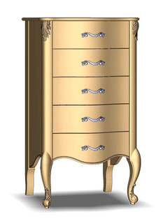 Chest of drawers 5Sh