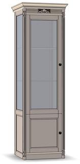 2 Door Cupboard (glass sides)
