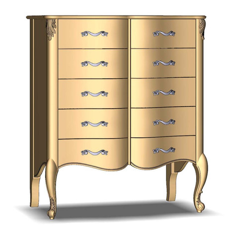 Chest of drawers 10Sh