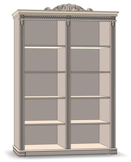 Bookcase open 2