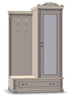 2 Door Hallway furniture