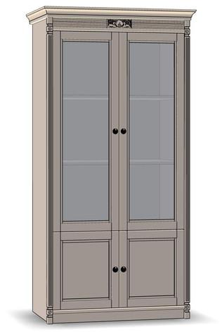 4 Door Cupboard (veneered sides)