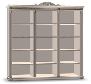 Bookcase open 3