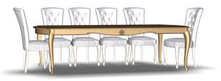 Folding dining table 10M