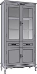 4 Door 2 Drawer Cupboard (veneered sides)