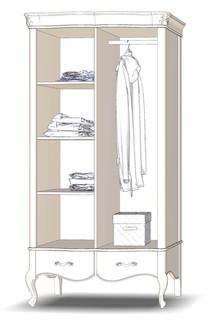 Wardrobe 2D2Sh