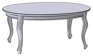 Coffee Table oval