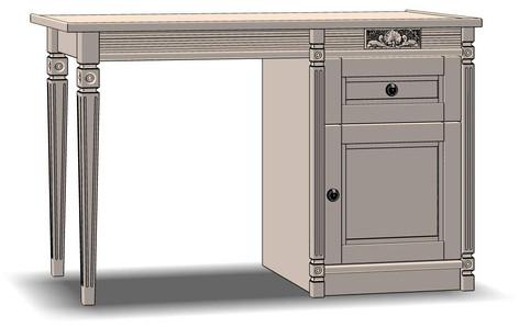 1 Drawer 1 Door Dressing Table