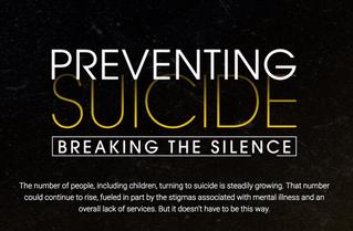 """Preventing Suicide: Breaking the Silence"" NBC Philadelphia documentary"