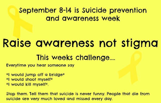 Raise Awareness Not Stigma!