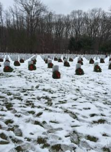 Pictures from Wreaths Across America event 12/13