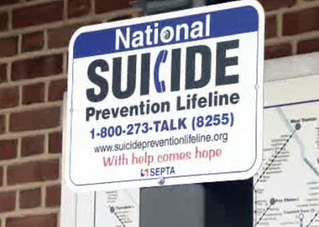 """SEPTA Posts Suicide Prevention Signs at Stations"" awesome news out of our great state of PA!"
