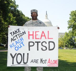 """PTSD Awareness: How far we've come, where we need to go"" news article"