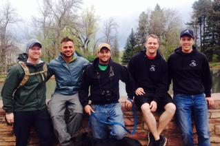 """Team Dane"" at CU-Boulder Out of the Darkness Walk 4/28/14"