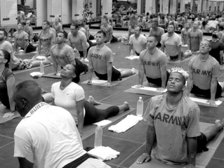 Military Battles PTSD with Yoga