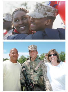 """""""Returning from the War Zone: A Guide for Families of Military Members"""""""