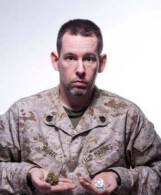 Mike Whiter: Overmedication of veterans in new photo documentary