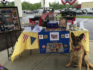 """Yamaha open house """"Dane's Dogs for Vets"""" fundraiser May 21, 2016"""