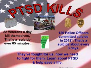 PTSD Kills.. Learn About PTSD & Save a Life!