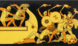 """""""Ancient Warrior Myths Help Veterans Fight PTSD"""" article - very interesting read!!"""