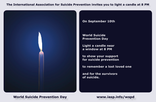 Sept. 10th: Worldwide Suicide Prevention Day