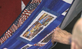 """""""Memories of Soldiers Told Through Handmade Quilts"""""""