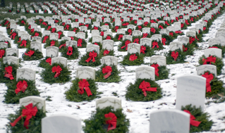 Wreaths Across America and Honoring our Veterans and Cpl Dane Freedman on December 13, 2014