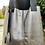 Thumbnail: Tote, Silver metallic leather with black straps