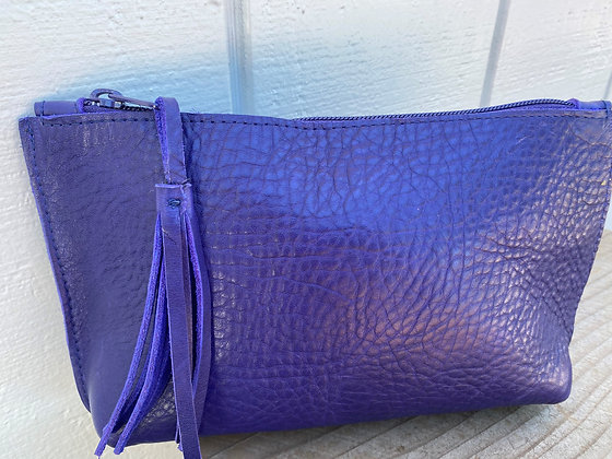 Small clutch, Purple (zipper)