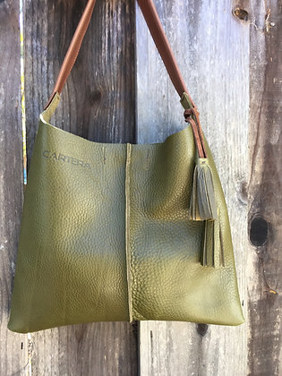 Shoulder bag, Olive green