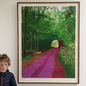 David Hockney, iPad Print
