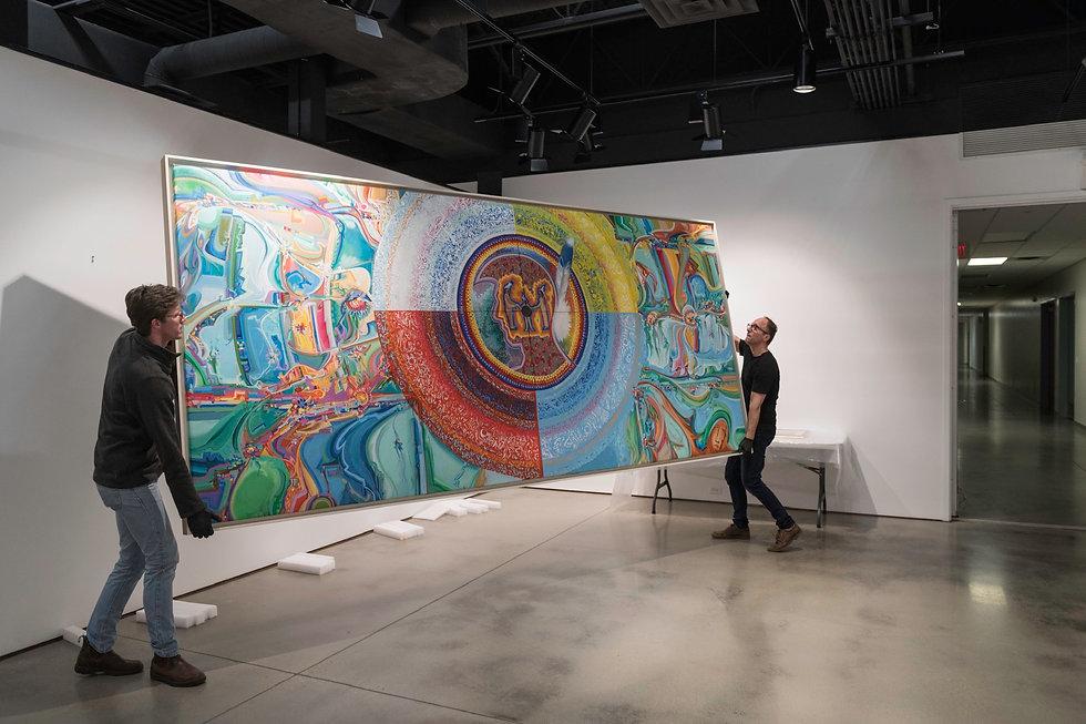 Alex Janvier, OKanada. Royal Alberta Museum