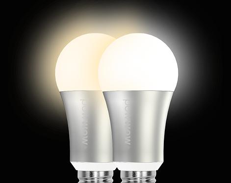 2-Pack Smart LED Bulb (Wi-Fi)