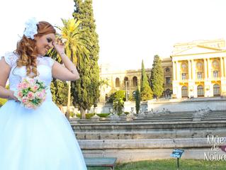 Noiva Contos de Fadas - Vestido Elynda Amorim
