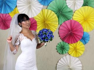 Noiva SEREIA kawaii! - Vestido Karen Fukuda
