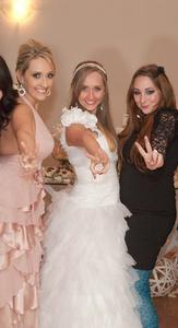 Meu casamento em maio de 2011, com a Jessi e a Paula
