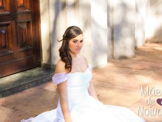 Noiva BELA e JOVIAL! - Vestido Giovanna Montanari