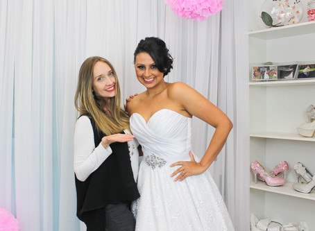 Vestido princesa com saia de RENDA - Vestido Catarina