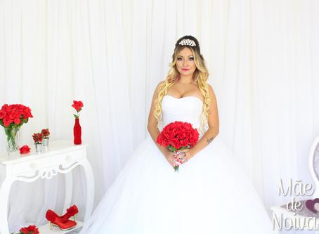 Noiva PRINCESA LUXO E GLAMOUR - Vestido Madú Ávila