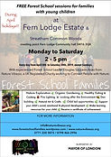 Free family Forest School Streatham Comm