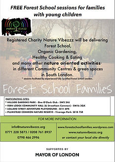 free family Forest School sessions in So
