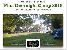free family camping event in London park