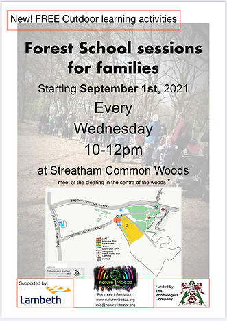 Forest School for families Streatham Common