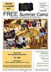 Free summer school hoilday camp in Lambe