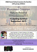 free Family Forest School at Plumstead C